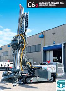 油圧クローラ式地盤改良機/削孔機